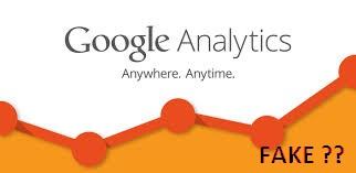 google analytics no fake logo